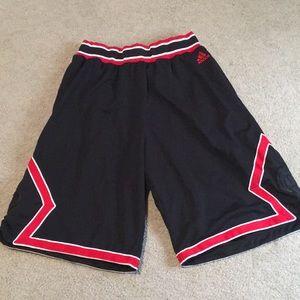 Men's Adidas Derrick Rose Shorts Large
